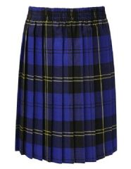 MILLER ACADEMY PRIMARY SCHOOL TARTAN  PLEATED SKIRT
